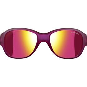 Julbo Junior 6-10Y Lola Spectron 3CF Sunglasses Matt Translucent Purple-Multilayer Pink